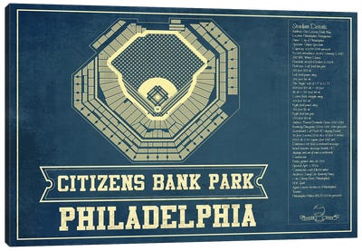 Philadelphia Citizens Bank Park II Canvas Art Print