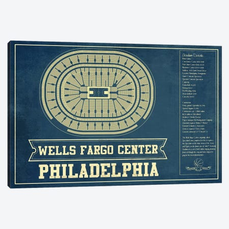 Philadelphia Wells Fargo Center I Canvas Print #CWE119} by Cutler West Canvas Art Print