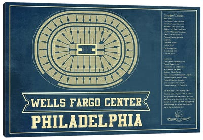 Philadelphia Wells Fargo Center I Canvas Art Print