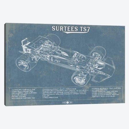 Surtees TS7 Canvas Print #CWE141} by Cutler West Canvas Art