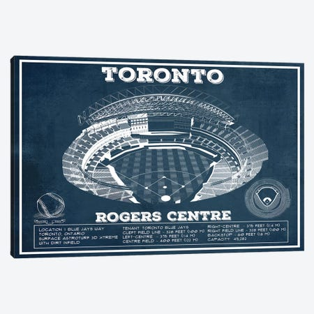 Toronto Rogers Centre Canvas Print #CWE149} by Cutler West Canvas Wall Art