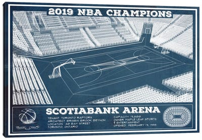 Toronto Scotiabank Arena Canvas Art Print