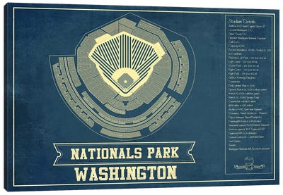 Washington Nationals Park Canvas Art Print