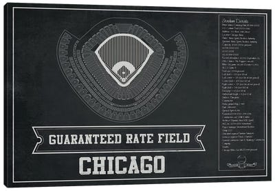 Chicago Guaranteed Rate Field Canvas Art Print