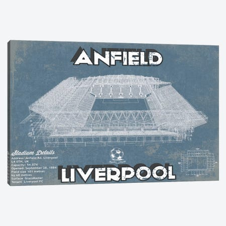 Anfield Canvas Print #CWE3} by Cutler West Art Print