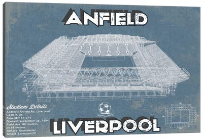 Anfield Canvas Art Print