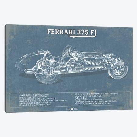 Ferrari 375 F1 Canvas Print #CWE53} by Cutler West Art Print