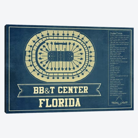 Florida BB&T Center Canvas Print #CWE54} by Cutler West Canvas Art