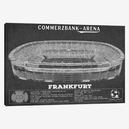 Frankfurt Commerzbank Arena In Team Colors Canvas Print #CWE56} by Cutler West Canvas Wall Art