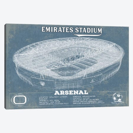 London Emirates Stadium Canvas Print #CWE71} by Cutler West Canvas Art Print