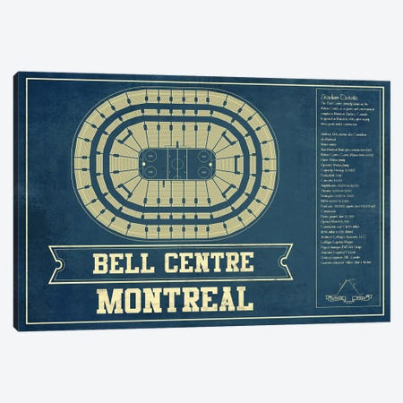 Montreal Bell Centre Canvas Print #CWE97} by Cutler West Canvas Wall Art