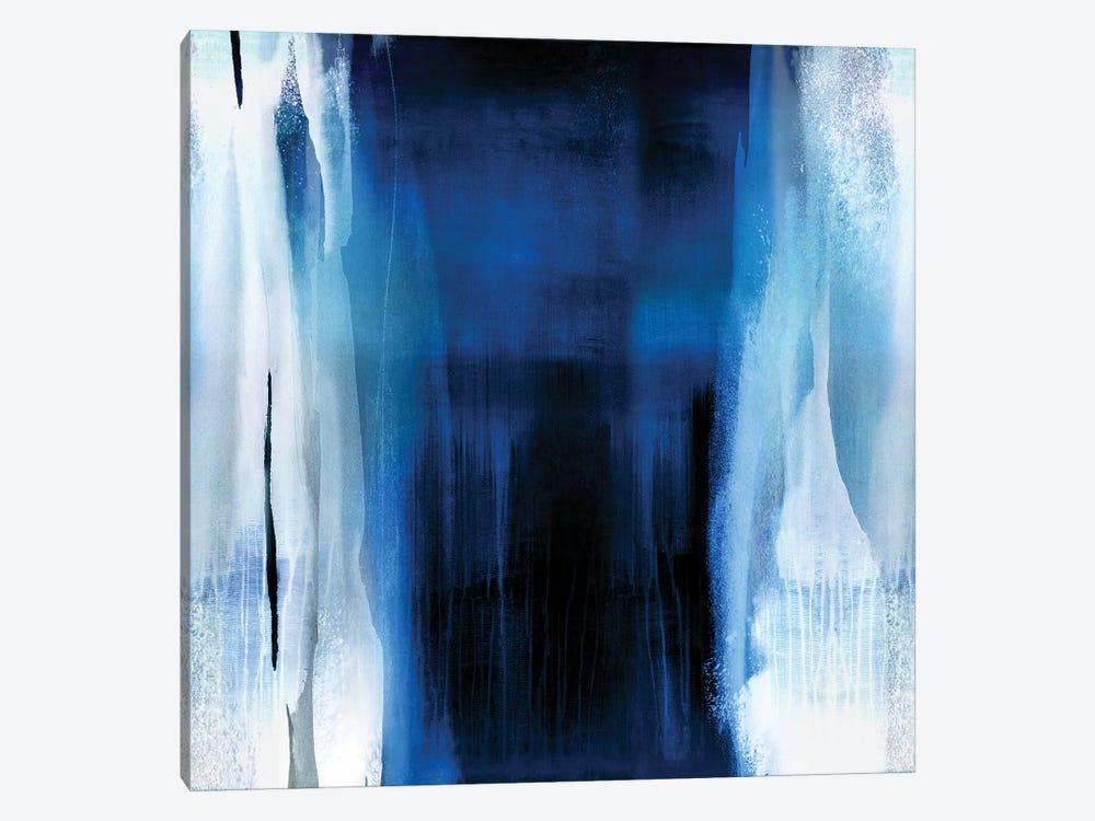 Free Fall Indigo Blue II by Christine Wright 1-piece Art Print