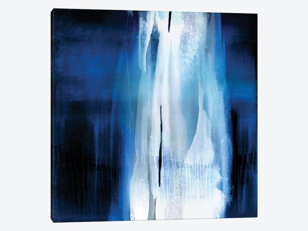 Free Fall Indigo Blue I by Christine Wright 1-piece Art Print