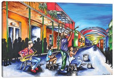 NOLA Jazz Canvas Art Print