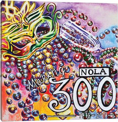 NOLA Making 300 Canvas Art Print