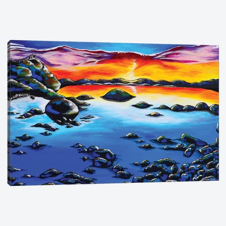 Phoenix Sky, Lake Tahoe Canvas Print #CWH14} by Carrie White Canvas Print