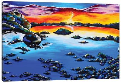 Phoenix Sky, Lake Tahoe Canvas Art Print