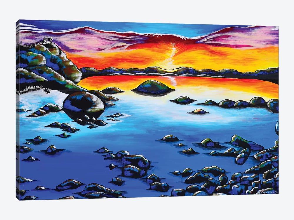 Phoenix Sky, Lake Tahoe by Carrie White 1-piece Art Print