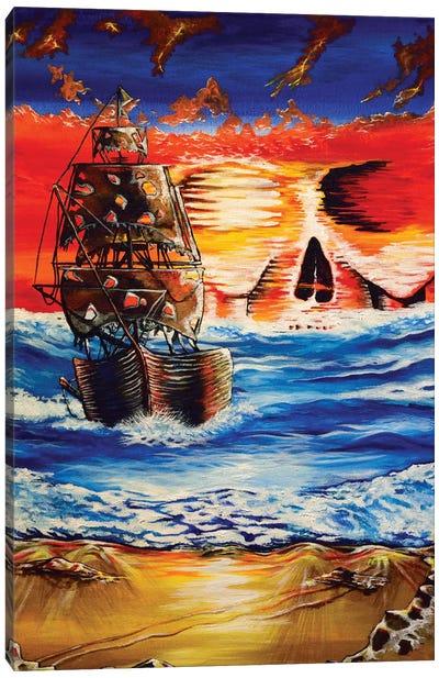 Pirate Ship I Canvas Art Print