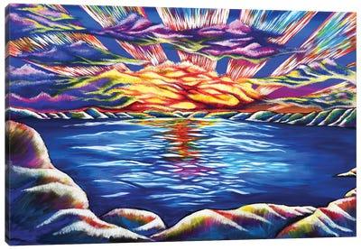 Tahoe Sunset Canvas Art Print