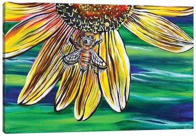 The Bee's Knees Canvas Art Print