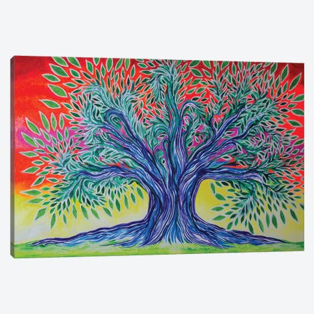 Tree Canvas Print #CWH24} by Carrie White Canvas Artwork