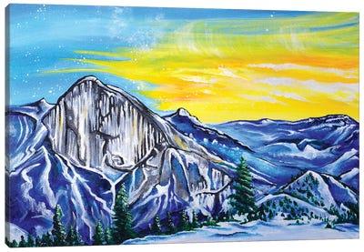 Halfdome Canvas Art Print
