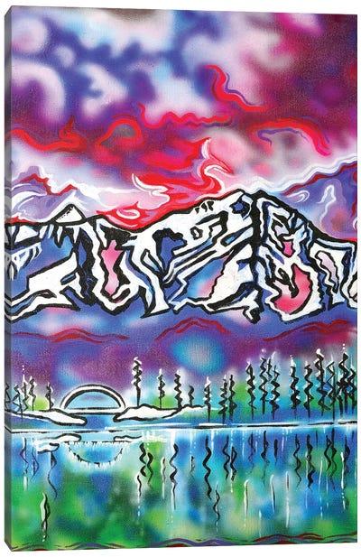 Mt Shasta Bridge Canvas Art Print