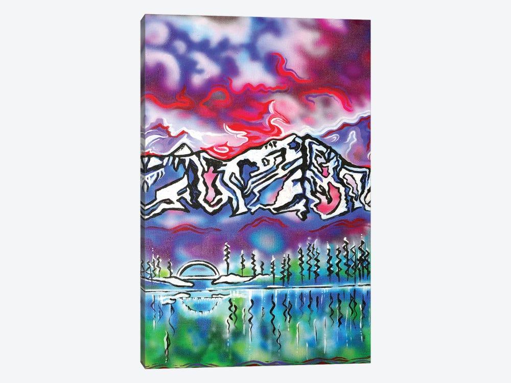 Mt Shasta Bridge by Carrie White 1-piece Canvas Art Print