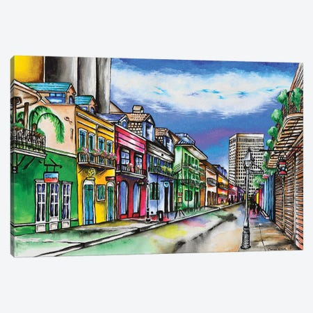 Dumaine St. 3-Piece Canvas #CWH3} by Carrie White Canvas Artwork