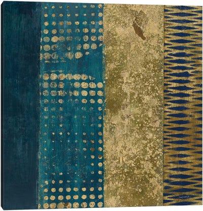 Juxtapose III - Metallic Canvas Art Print