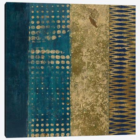 Juxtapose III Metallic Canvas Print #CWR3} by Cheryl Warrick Art Print