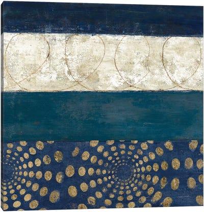 Juxtapose IV Metallic Canvas Art Print