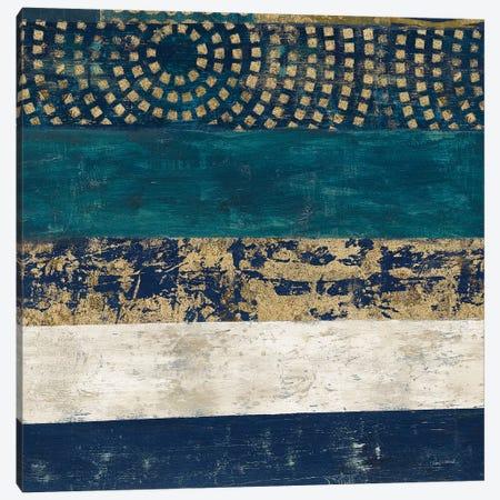 Juxtapose V Metallic Canvas Print #CWR5} by Cheryl Warrick Canvas Wall Art