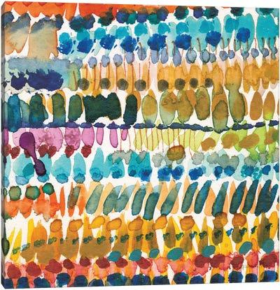 Colorful Patterns V Crop II Canvas Art Print