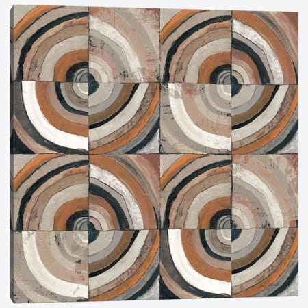 The Center I Abstract Warm Canvas Print #CWR9} by Cheryl Warrick Canvas Art Print