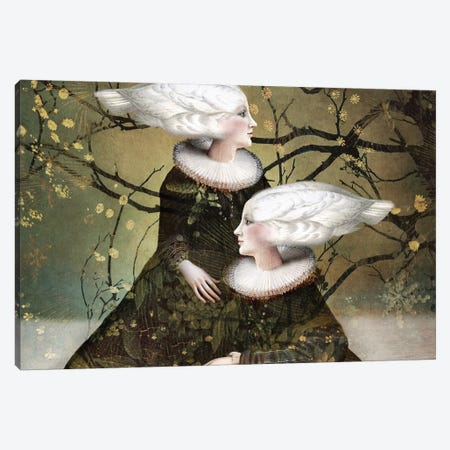 Soul Sister II Canvas Print #CWS102} by Catrin Welz-Stein Art Print
