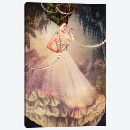 Fake Champagne Canvas Print #CWS10} by Catrin Welz-Stein Canvas Print