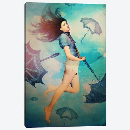 Easy Canvas Print #CWS110} by Catrin Welz-Stein Canvas Artwork