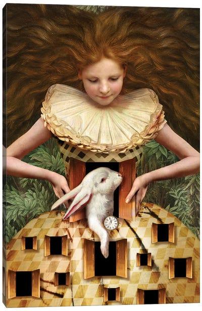 Hello Alice Canvas Art Print