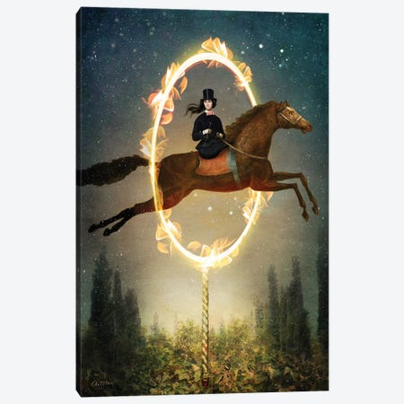 Knight Of Wands Canvas Print #CWS113} by Catrin Welz-Stein Canvas Artwork