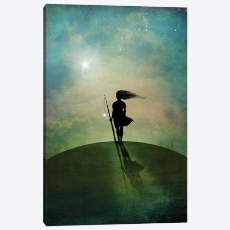 Morningstar Canvas Print #CWS114} by Catrin Welz-Stein Canvas Print