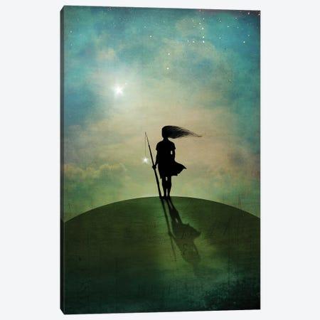 Morningstar Canvas Print #CWS114} by Catrin Welz-Stein Canvas Print