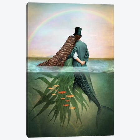 Of Cups Canvas Print #CWS115} by Catrin Welz-Stein Art Print