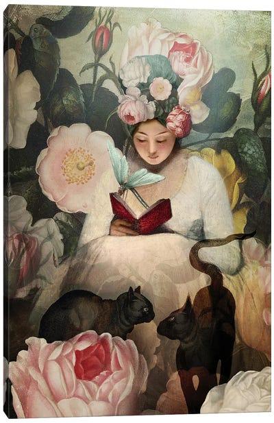 The Reading Canvas Art Print