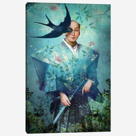 King of Swords Canvas Print #CWS120} by Catrin Welz-Stein Art Print