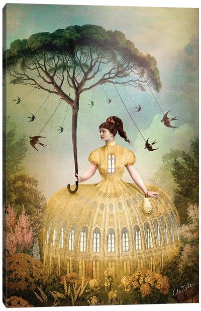The Bird Keeper Canvas Art Print