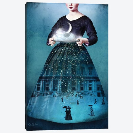 Frau Holle Canvas Print #CWS12} by Catrin Welz-Stein Art Print