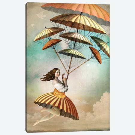 Eight Of Wands Canvas Print #CWS131} by Catrin Welz-Stein Canvas Artwork