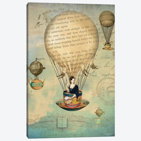 The Poet Canvas Print #CWS134} by Catrin Welz-Stein Canvas Print